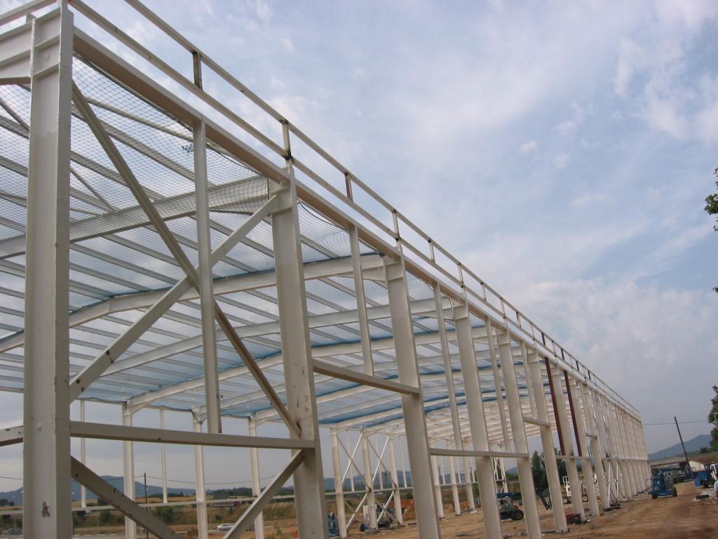 Memyoc estructuras metalicas en rubi barcelona - Estructuras metalicas murcia ...