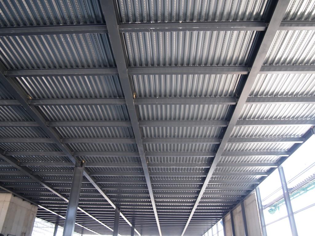 Chapa colaborante memyoc for Forjado estructura metalica